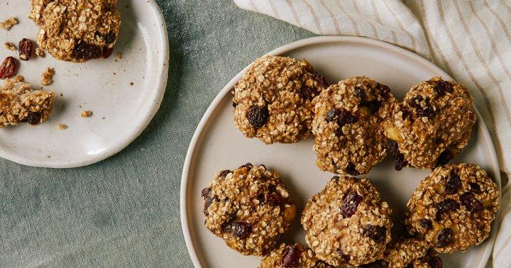 Make Mornings More Fun With These 5-Ingredient, Kid-Friendly Breakfast Cookies