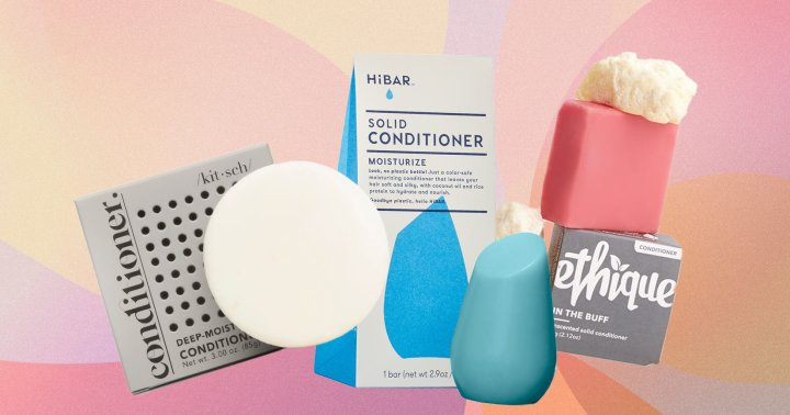 The Secret To Hydrated Hair? One Of These 8 Conditioner Bars