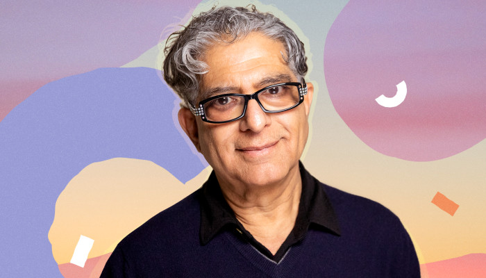 This Is How Deepak Chopra, M.D., Stays Present, Energized & 'Clear'