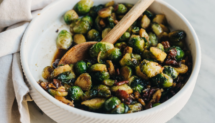 These Brussels Sprouts Make The Perfect Keto-Friendly Thanksgiving Side