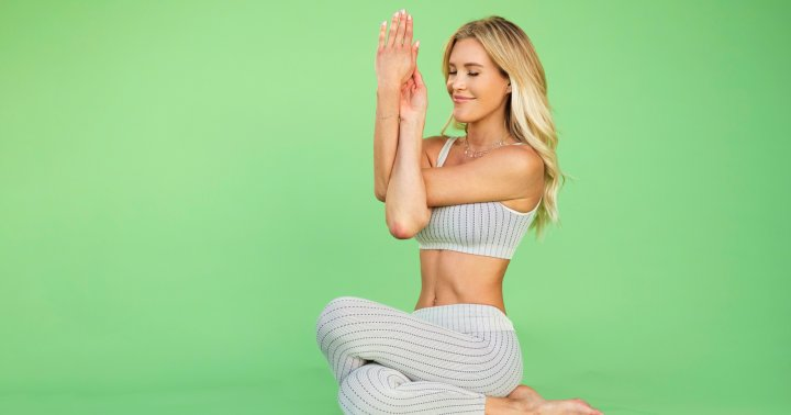 This 15-Minute Yoga Flow Will Release Months Of Tension