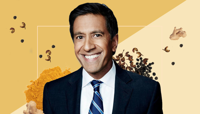 The Healing Spice Dr. Sanjay Gupta Swears By & His Secret To Happiness