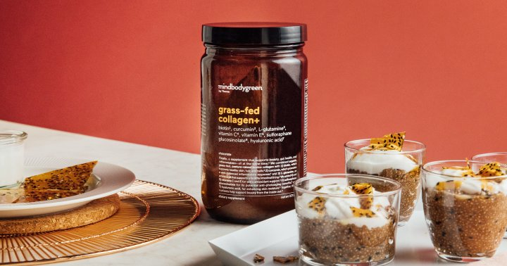 This Is Chia Seed Chocolate Collagen Pudding Is Perfect For The Long Weekend
