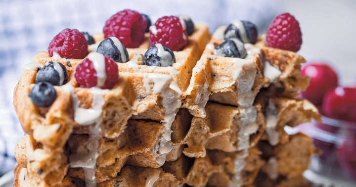 These Crispy Homemade Waffles Are Vegan & Gluten-Free: Here's How To Make Them