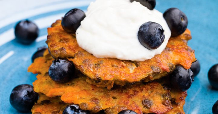 These Sweet Potato Breakfast Patties Are Packed With Protein