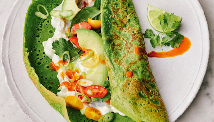 Try These Spinach Pancakes For A Healthy, Savory Breakfast Option