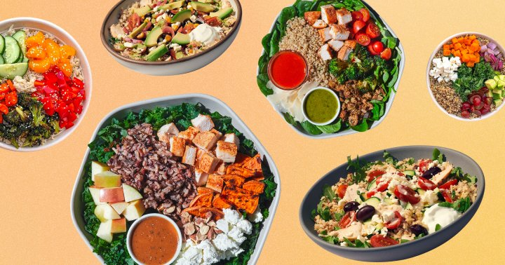 Here Are The Best Grain Bowls To Order Out, From Panera To Chipotle