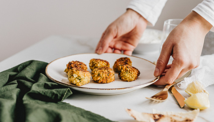 Dry Falafel Is Gross: This Secret Protein-Packed Ingredient Can Help