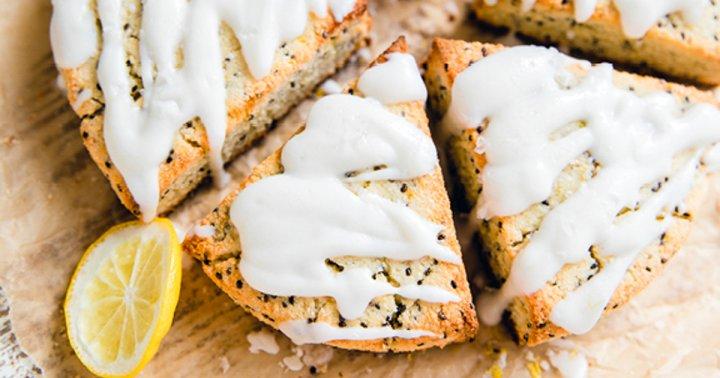 Skip Boring Scones: Make These Glazed, Gluten-Free, Lemon Ones Instead