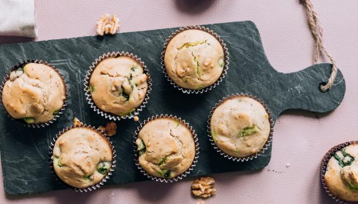 These Paleo Matcha Muffins Are Detoxifying & Energizing