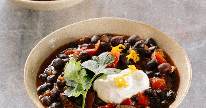 This Black Bean Chili Is A One-Pot Wonder With A Surprising Ingredient