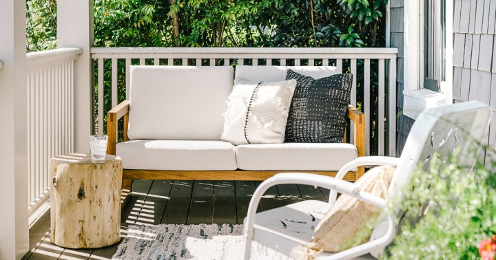Summer Is In The Air & It's Time To Clean Off Your Outdoor Furniture