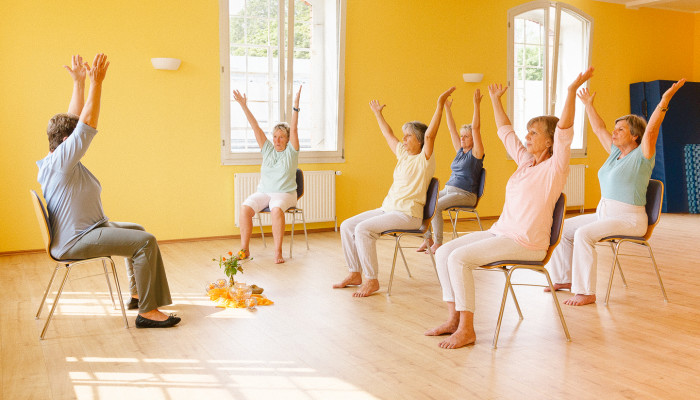 Chair Yoga Could Help Mitigate Dementia Symptoms, New Study Finds