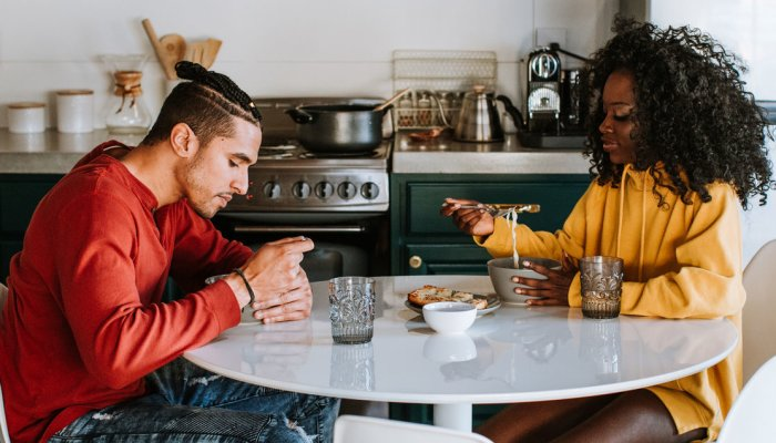 What To Say To Your Partner When They're Not Taking Care Of Their Health
