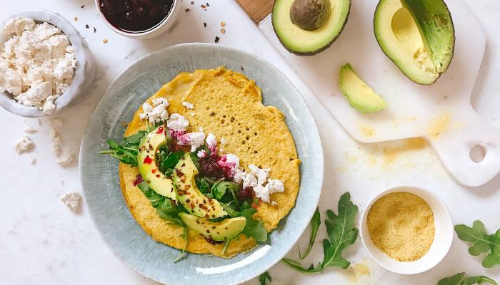 This Grain-Free Breakfast Burrito Has A Gut-Friendly Secret Ingredient