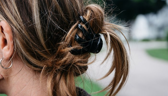 Yes, Claw Clips Can Damage Your Hair—But Not If You Do This