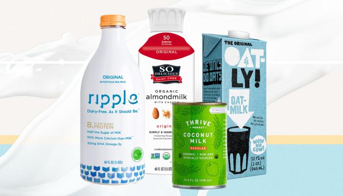 Healthiest Nondairy Milk