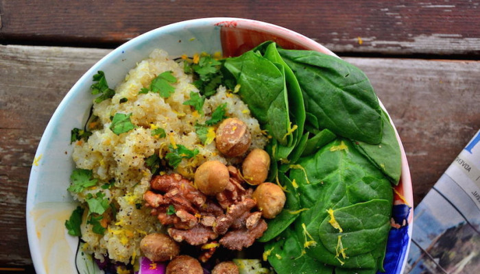 Eat Clean With This Satisfying Quinoa Salad