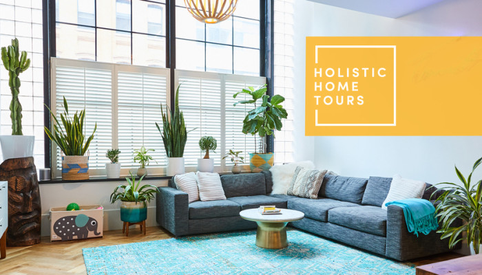 mbg's Co-Founders Open The Door To Their Blissed-Out, Plant-Filled Apartment