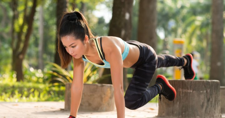 how to get body in shape at home