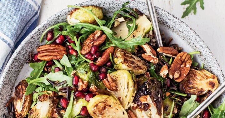 This Simple Vegan Wild Rice Salad Will Make You Glow With Happiness