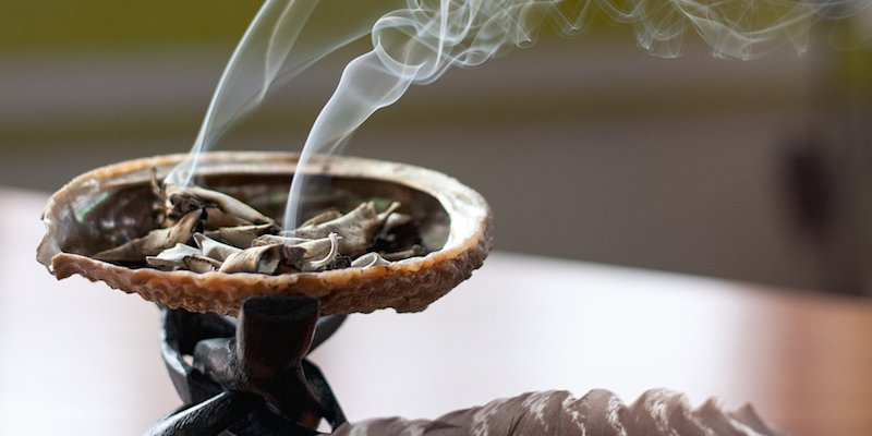 Smudging 101: Burning Sage To Cleanse Your Home & Aura