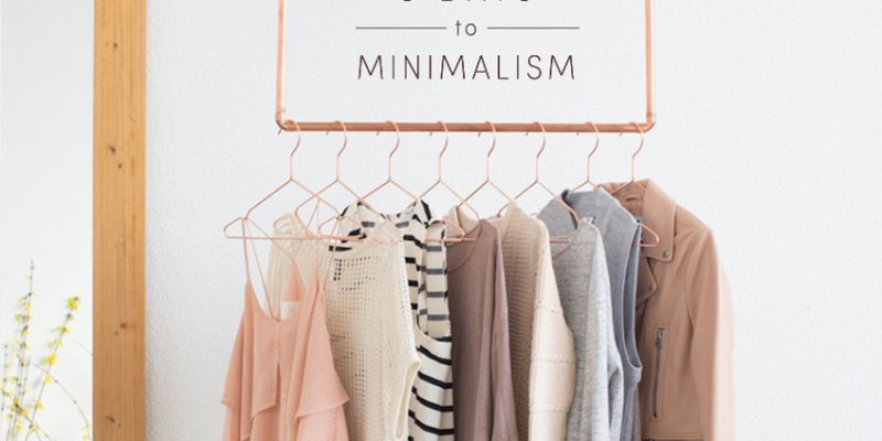 How To Give Your Closet The Ultimate Minimalist Makeover