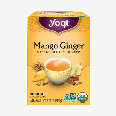 Mango Ginger tea by Yogi Tea