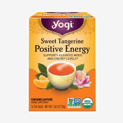 Sweet Tangerine Positive Energy by Yogi Tea