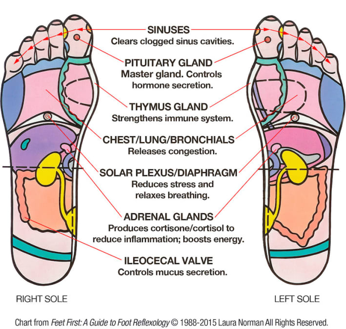 Diy Foot Reflexology 7 Pressure Points To Relieve -9883