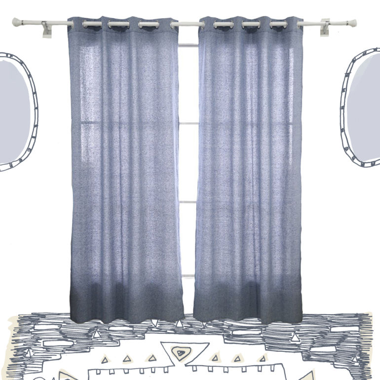 A Guide To Pretty, Eco Friendly Curtains Thatu0027ll Play Up Any Window