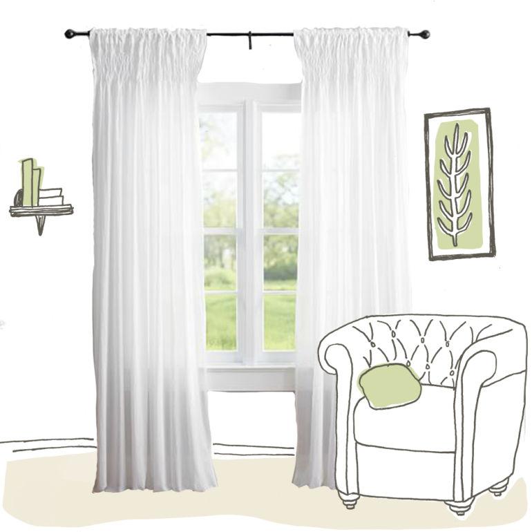 an eco-friendly curtain shopping guide - mindbodygreen