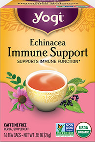 Echinacea Immune Support by Yogi Tea
