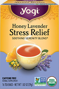 Honey Lavender Stress Relief Tea by Yogi Tea