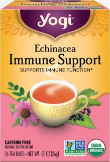 Echinacea Immune Support Tea by Yogi Tea