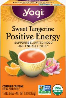 Sweet Tangerine Positive Energy Tea by Yogi Tea