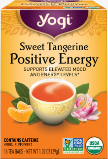 Sweet Tangerine Positive Energy Tea by Yogi Tea