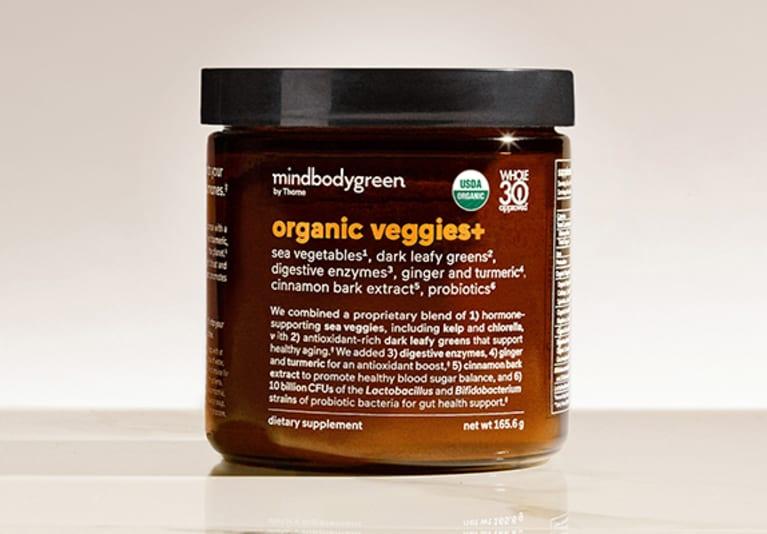organic veggies+