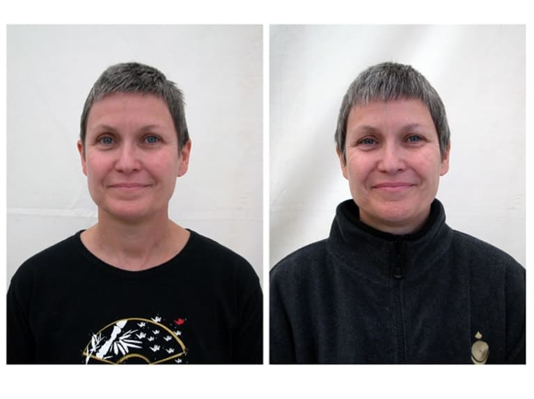 Before and After Photos: A Month of Meditation