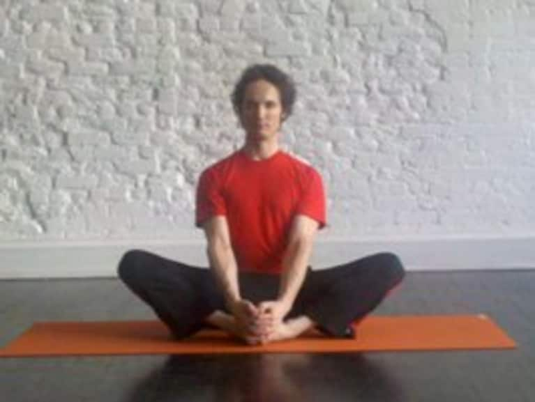 In Our Beginner Yoga Pose Series Michael Taylor From Strala New York City Demonstrates And Gives Us The Scoop On Butterfly