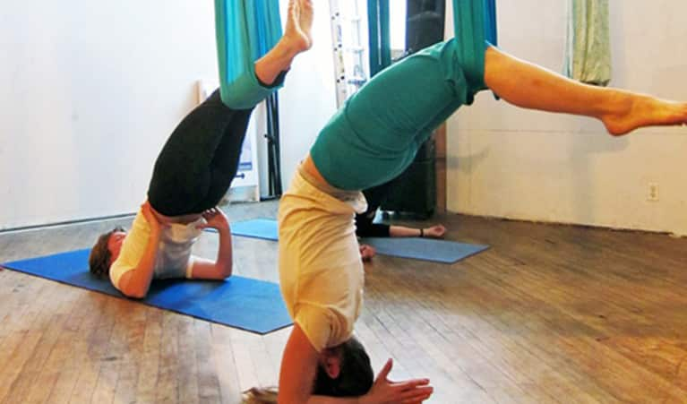 3 Things Aerial Yoga Has Taught Me