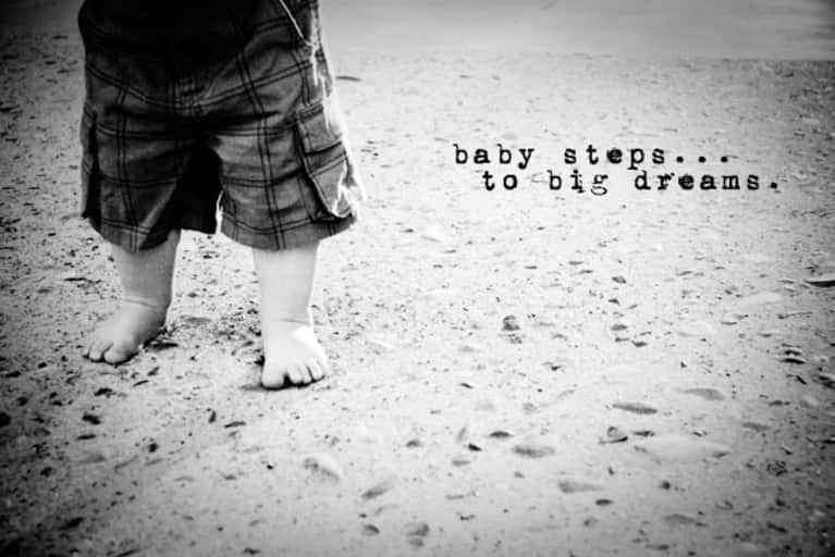 Image result for baby steps
