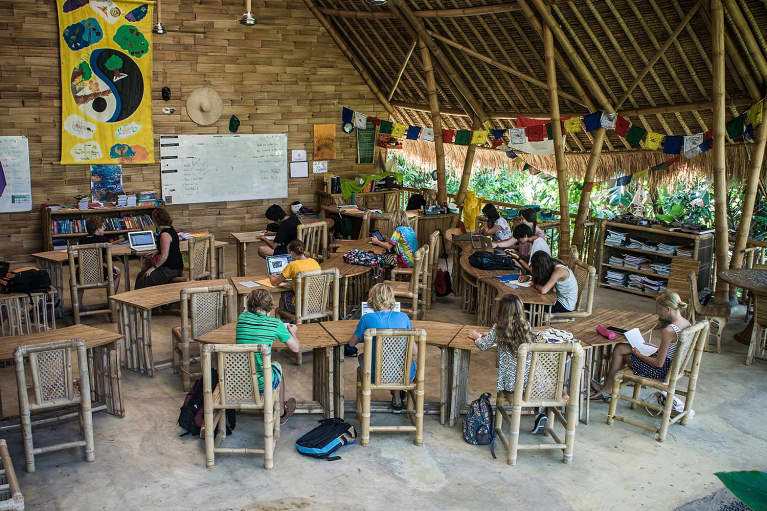 This Bamboo School In The Bali Jungle Is The Greenest In The World Lets Take A Tour -1641