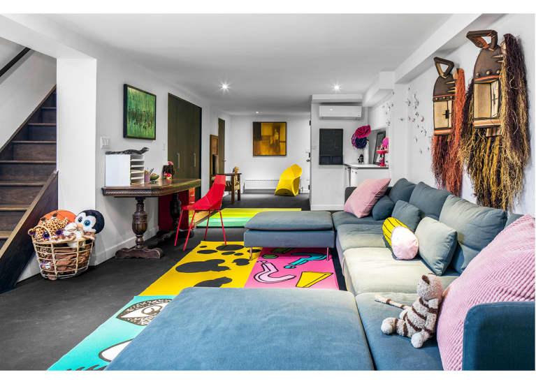 holistic home tour delia kenza mindbodygreen. Black Bedroom Furniture Sets. Home Design Ideas