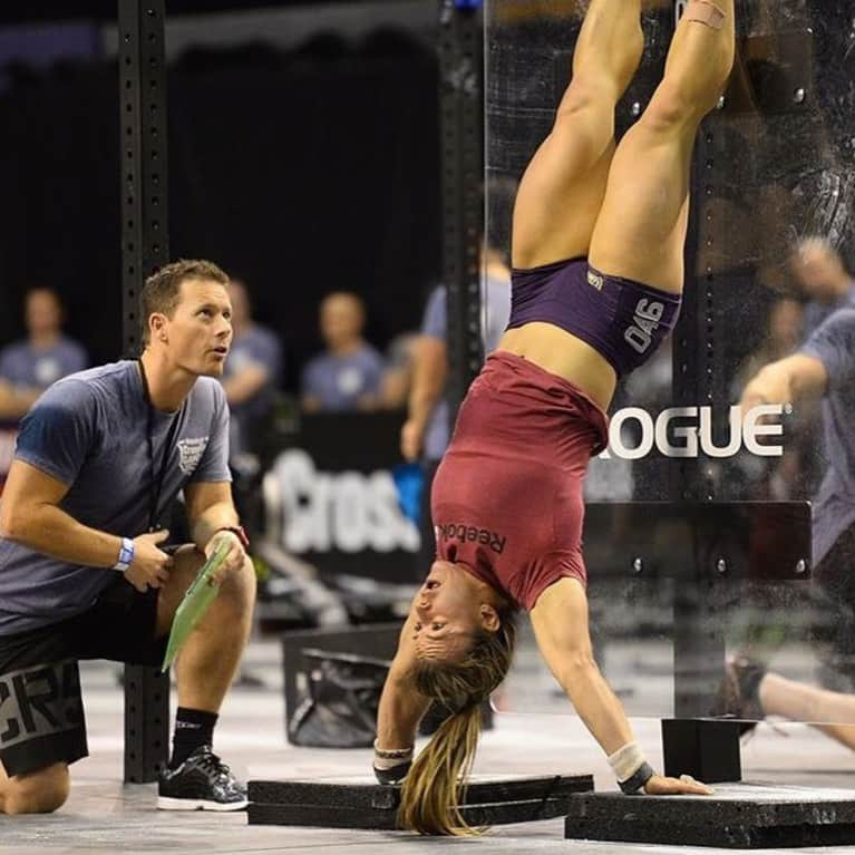 cdd6c1658d In 2014, the famed Aussie had her sights set on the CrossFit games. She  finished first in the Overhead Squat event, with a 250-pound squat, but  ultimately ...