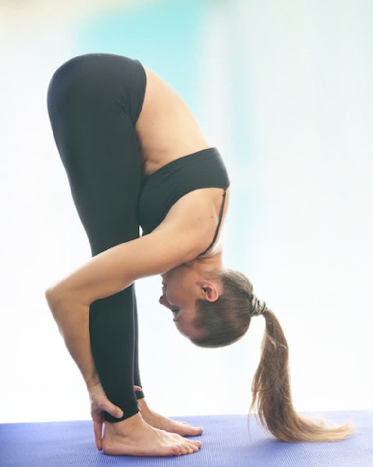 Standing Forward Bend Pose Uttanasana