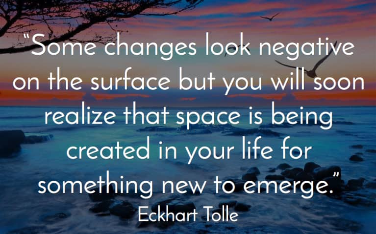 Image result for eckhart tolle quotes on change