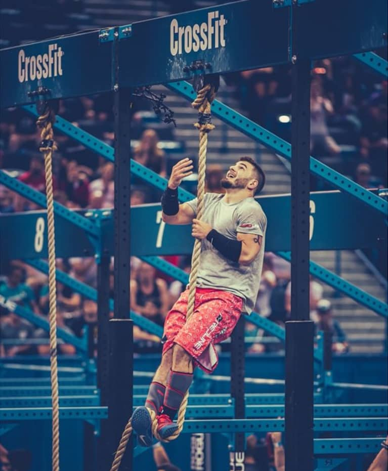 6fb75410 Fraser was a standout at the 2014 CrossFit Games — he was the runner up and  earned the title of CrossFit Rookie of The Year. The former Olympic  weightlifter ...