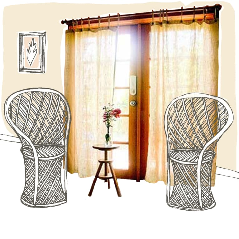 Rawganique Organic Hemp Curtains