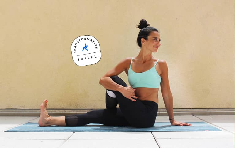 This 7 Pose Yoga Sequence Will Help You Stay Balanced During Your
